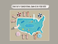 Sunsational website - find pool in America