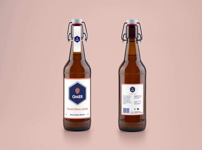 Redesign Omer beer