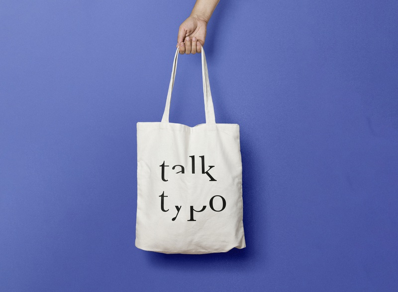 Logo Design Talk Typo