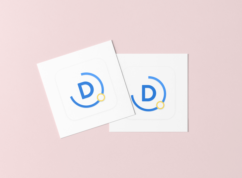 Daikin logo icon typography business cards logo graphic brand branding illustration logo design graphic design