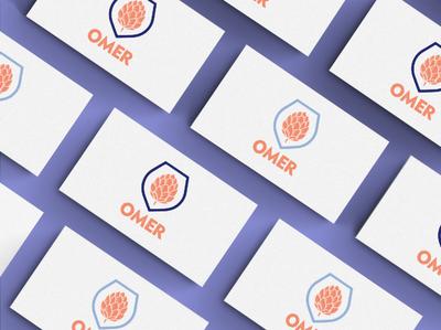 Omer logo graphic icon business cards logo design illustration logo minimal brand graphic design branding