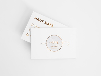 Business card and logo  - Beauty atelier