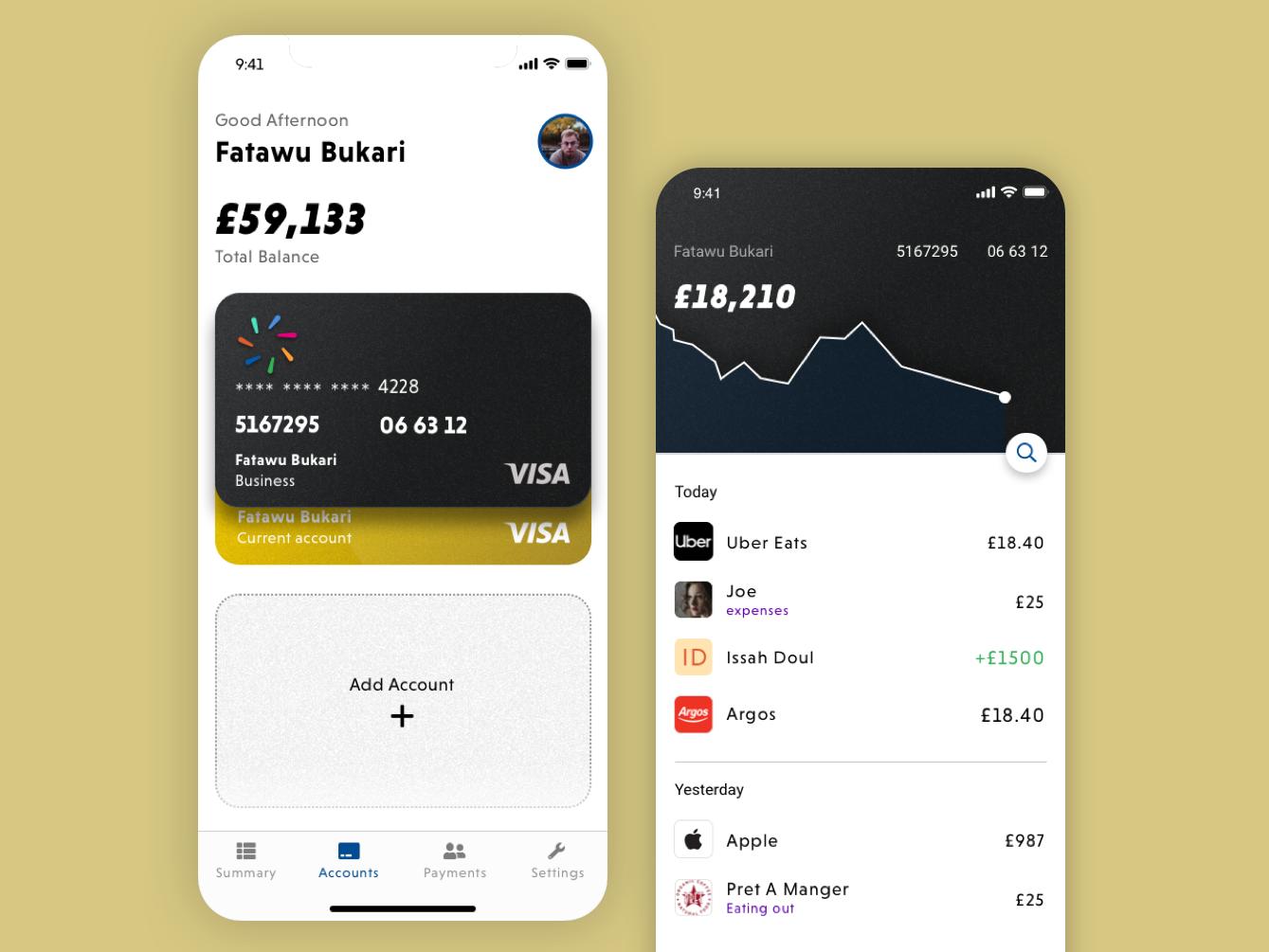 Bank App design minimal ux app uxdesign ui ux designer