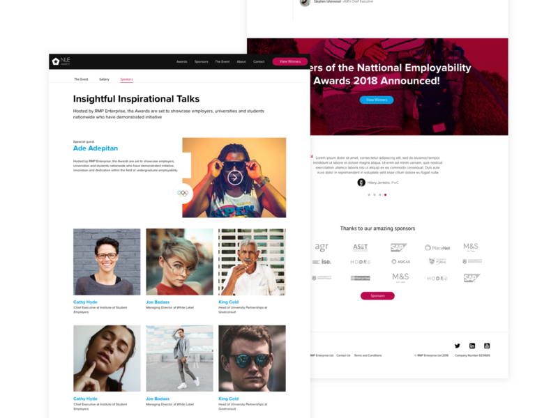Nue Awards typography branding dailyui ui animation minimal app ux uxdesign design