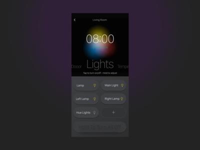 Home automation apple dailyui application animation minimal ux app uxdesign ui design