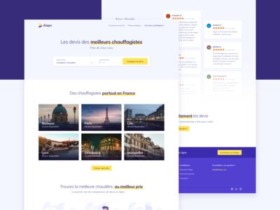 Marketplace landing - homepage