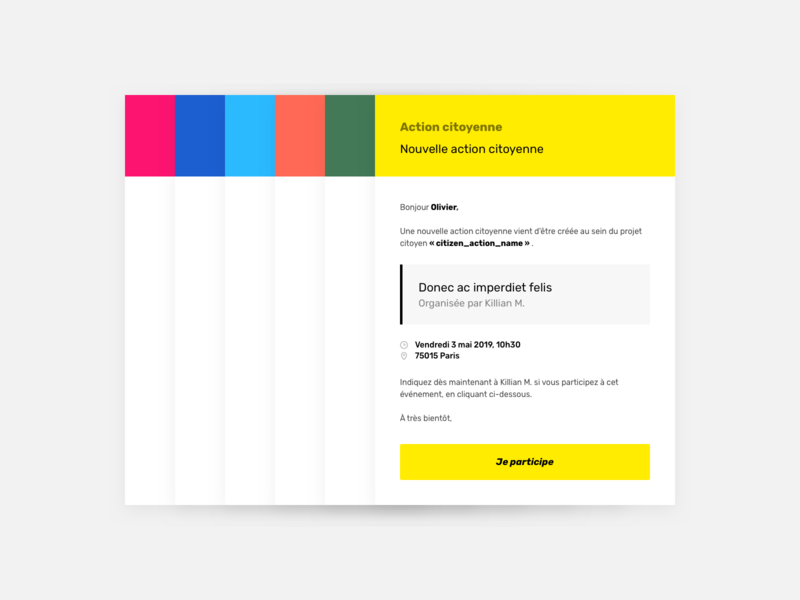 Email template ui template transactional email