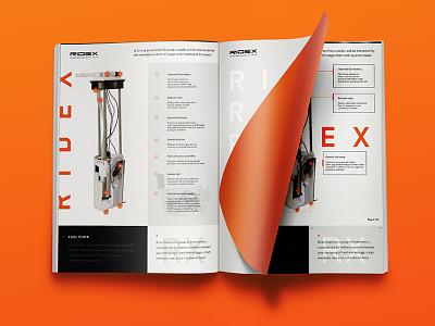 Ridex catalogue catalogue ui orange