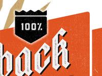100% Beer Label