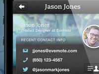 Evernote Hello Profile