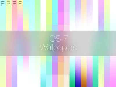 iOS 7 inspired Wallpapers ios 7 ios iphone wallpaper free png download pastel gradient design inspired flat