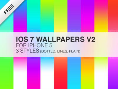 iOS 7 Wallpaper v2