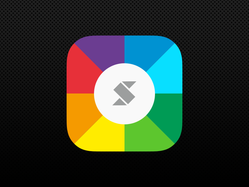 A Flat Approach for Skala Preview skala preview rebound bjango icon app iphone ipad apple redesign colorful blue