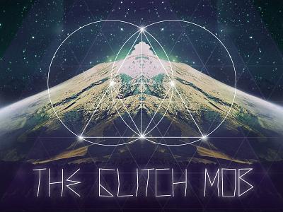The Glitch Mob glitch mob the glich mob wallpaper free iphone ipad retina macbook sky clouds circles triangle mountain
