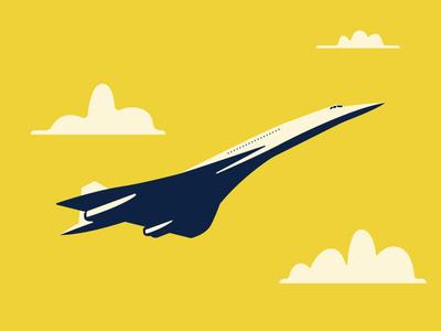 Concorde zoom supersonic air travel concorde