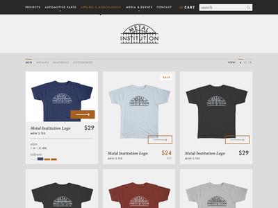 Metal Institution - Apparel & Merchandise