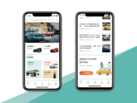 Car App design ux ui car app  design app