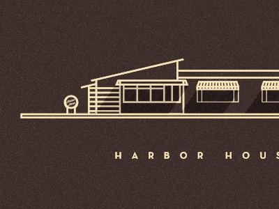 Harbor House illustration shadows neutra text california dana house harbor point