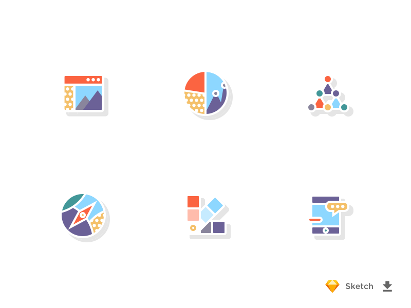 Download Colorful Icon Set