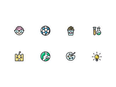 Trivia Category Icons general culture arts geography history pop culture science entertainment sports icons genius trivia
