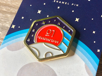 Founding Team Enamel Pin