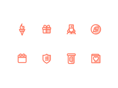 Outpatient Health / Medical Icons