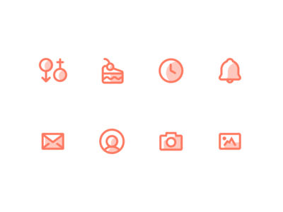 Outpatient Health / Medical Icons 2