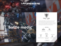 Battle Medic Role Card