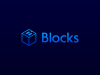 Blocks logo development