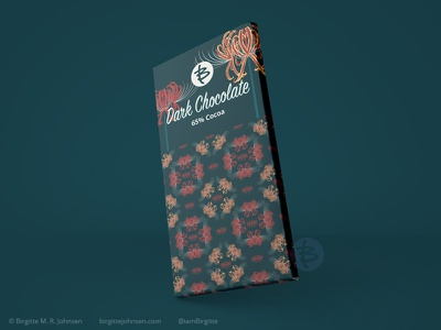 Dark chocolate packaging - Spider lily pattern huely challenge huely2020 huely packaging mockups packaging mockup packaging design packagingdesign packaging pattern art floral patterns floral pattern flower flora digital art digital illustration limited colours limited colour palette art illustration