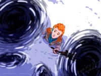 Aloy and mystery machine