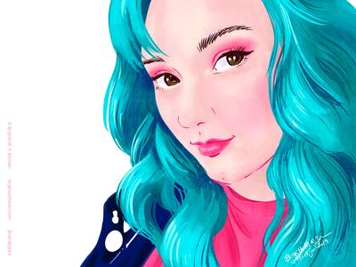 Annie portrait 2