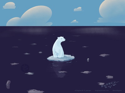 Lonely Polar Bear
