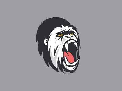 Gorilla Avatar Illustration