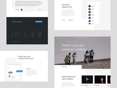 GoOut Microsite Feature clean simple real project web design web wolinger ui exploration uxui ux goout