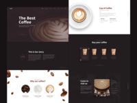 Cafe Website concept