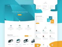 Self Driving Car webdesign