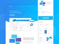Eine Webdesign