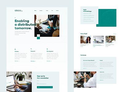 ABAG - website web design real work wolinger czech ux ui clean simple web website design