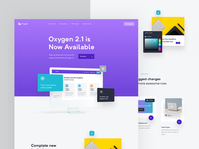 Oxygen WIP minimalism real project fresh wolinger website ux web design web ui clean design simple