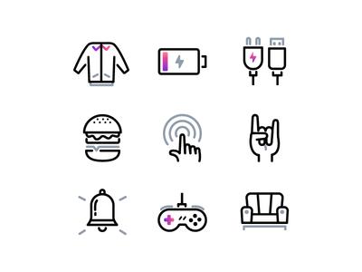 Weekend icons