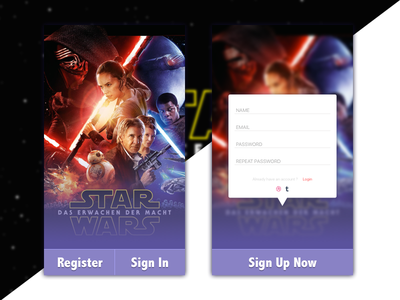 Daily UI #001 - Sign Up dailyui
