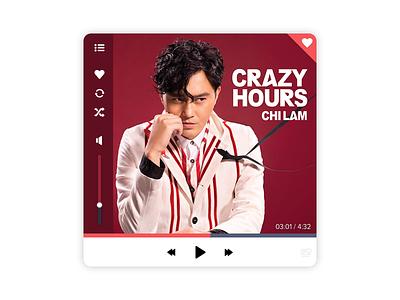daily UI #009 - Music Player dailyui
