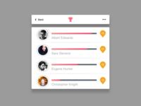 daily UI #019 -Leaderboard