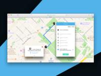 daily UI #020 -Location Tracker