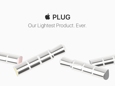  PLUG wireless headphones aluminum innovation product design mobile ios iphone apple