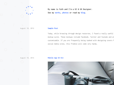 Blog webdesign website theme minimal wordpress theme blog