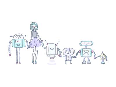 Love the robots <3
