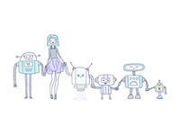 Love the robots <3