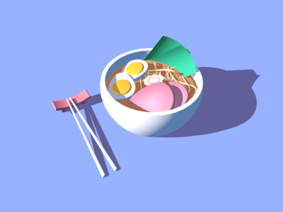 3D Ramen